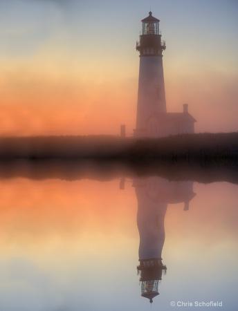 lighthouse reflecton