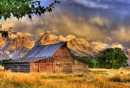 Barn Teton View