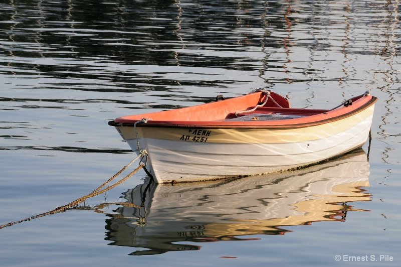 Boat in the Water - ID: 10789856 © Ernest S. Pile