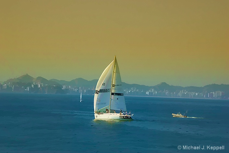 Sailing into the Sunset - ID: 10796395 © Mike Keppell