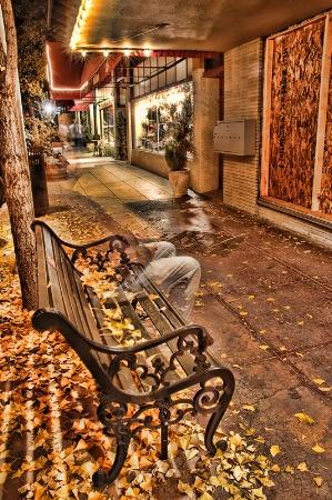 Lonely Autumn Night