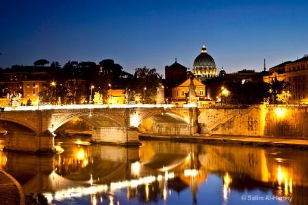 Tibr River - Rome Italy