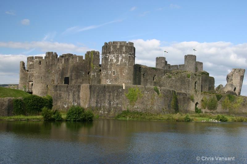20070829 0573 caerphilly castle  caerphilly  wales - ID: 10822354 © Chris Vansant