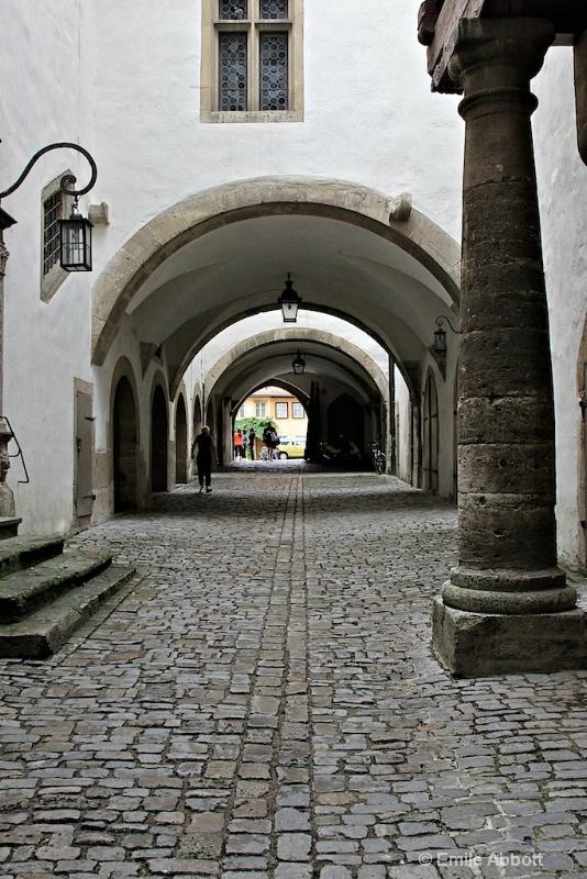 Cobblestone Streets of Rothenburg  ob der Tauber - ID: 10830400 © Emile Abbott