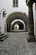 Cobblestone Streets of Rothenburg  ob der Tauber