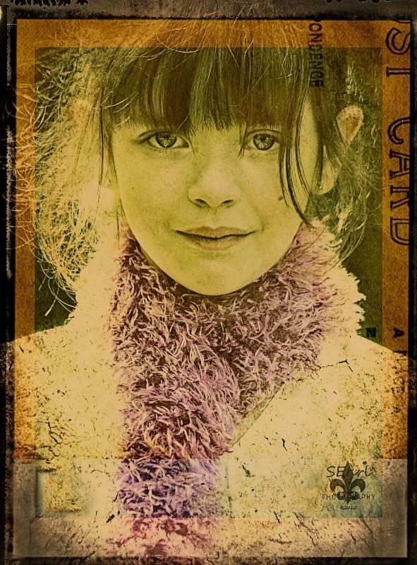 Polaroid Transfer@@Anna