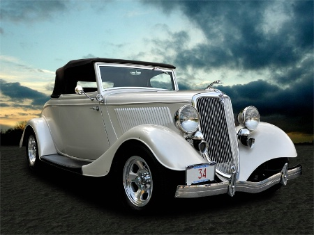 """""""34"""" Ford convertible"""