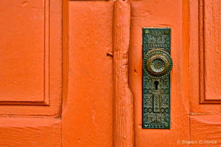 Vintage Door and Hardware