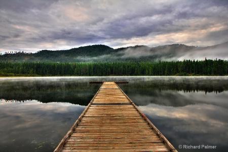 Dock at Round Lake