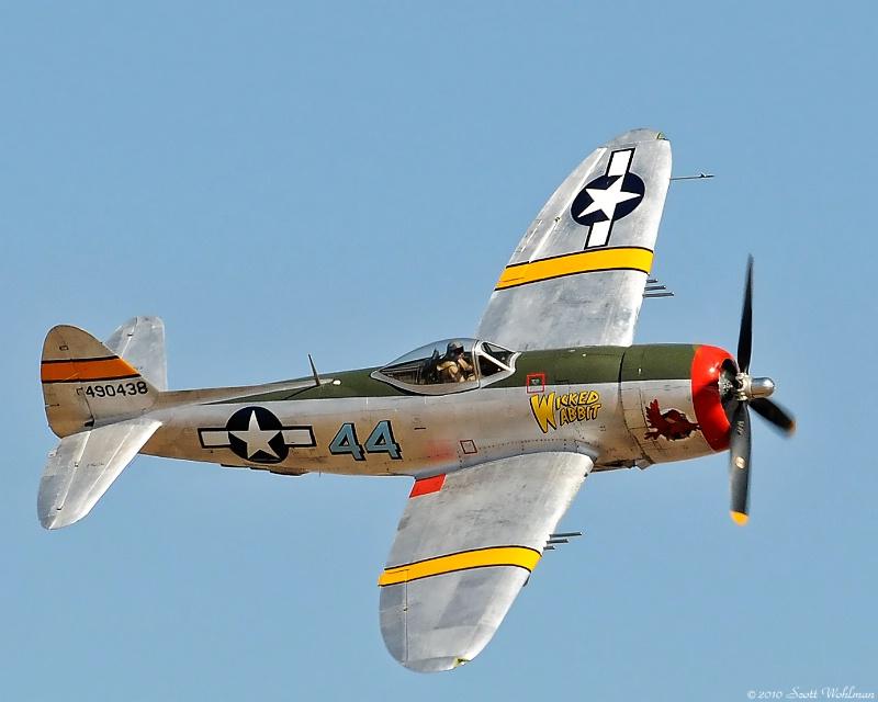 P-47 Over Colorado Springs