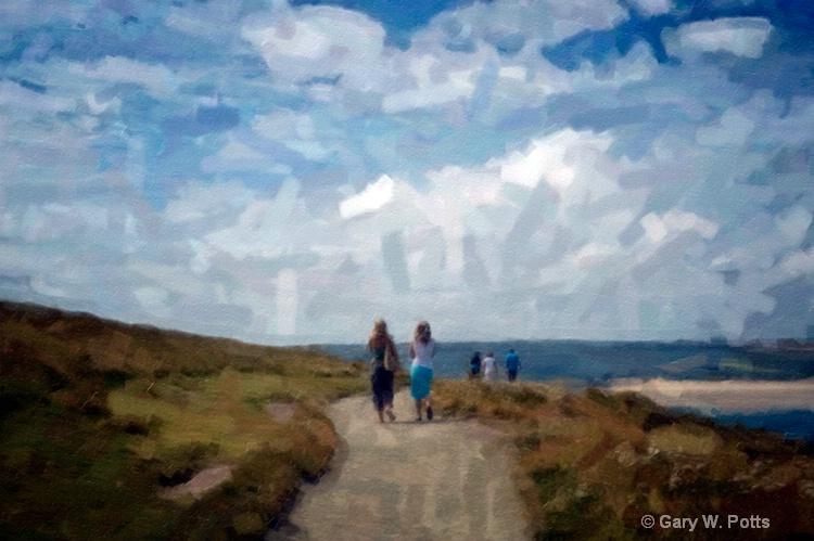 A Sunday Stroll In Cornwall - ID: 10877350 © Gary W. Potts