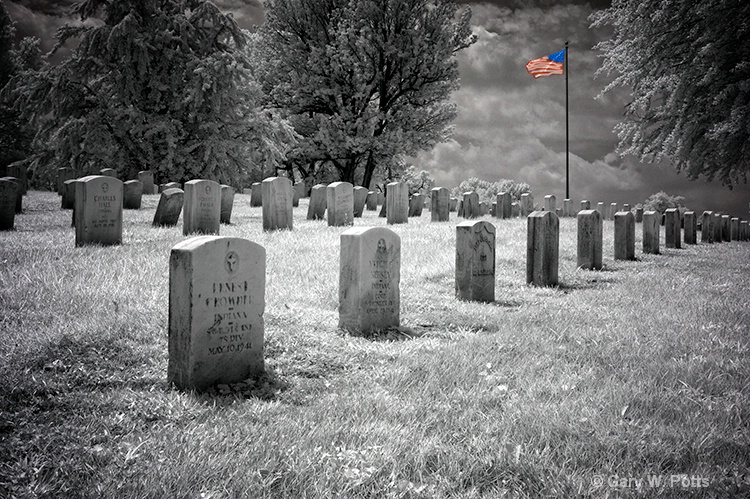 Glory To The Fallen - ID: 10877354 © Gary W. Potts