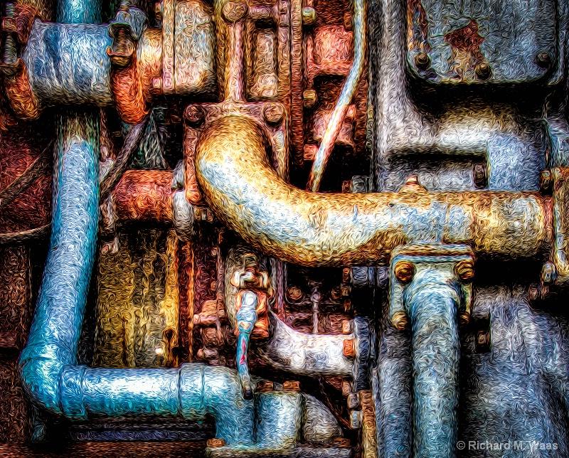 Engine Block - ID: 10912464 © Richard M. Waas