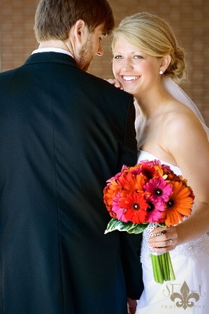The Happy Couple@@Foust Wedding