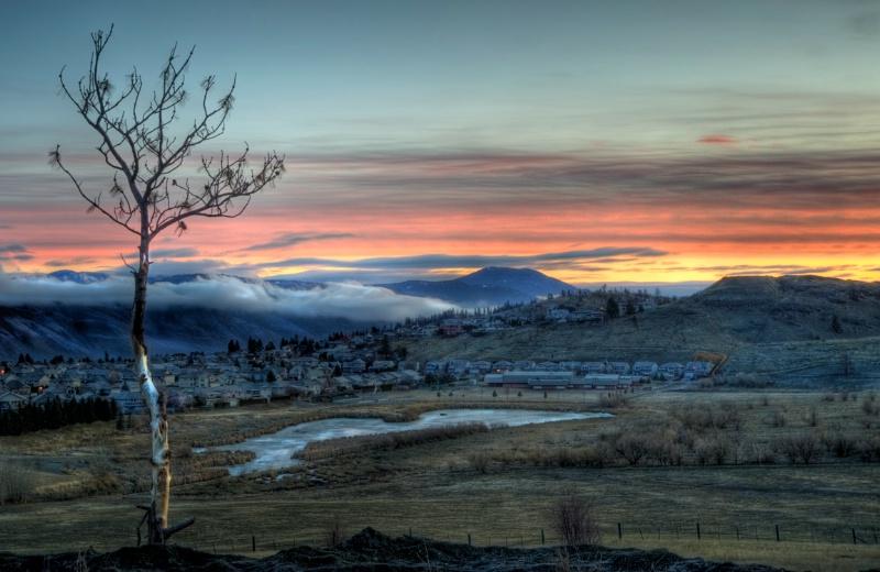 """""""Sunrise Over Kamloops"""" - ID: 10956538 © Kelly Pape"""