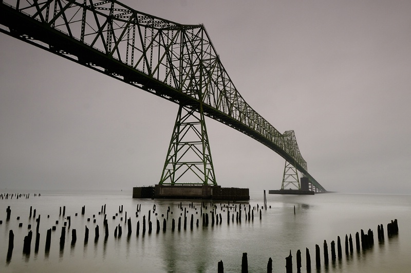 Astoria Bridge Into the Fog - ID: 10964905 © Ron Heusser