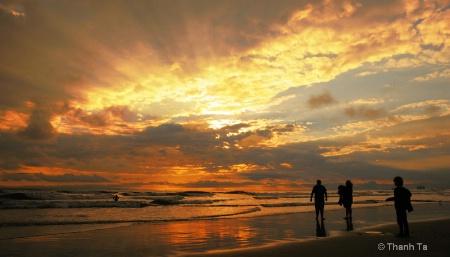 Sunset, Huntington Beach, CA