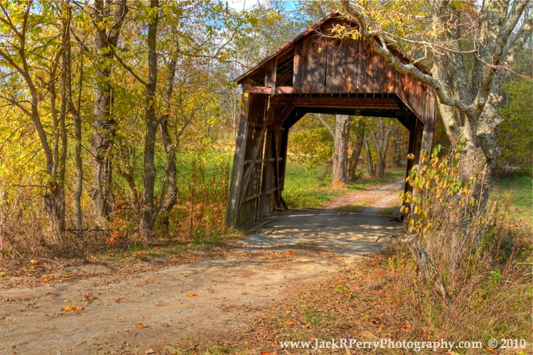 Valley Pike or Bouldin Covered Bridge