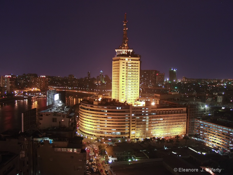 Cairo, Egypt at night - ID: 10980893 © Eleanore J. Hilferty