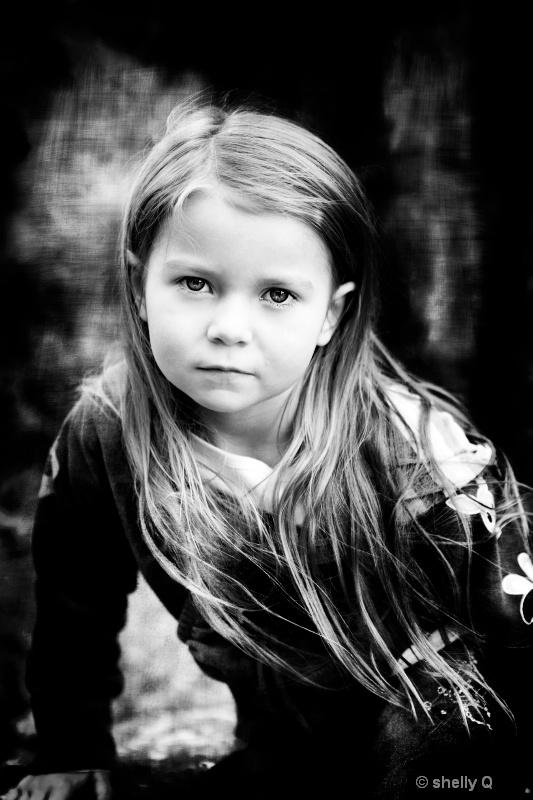 Contemplative - age 5- Accalia Quintana