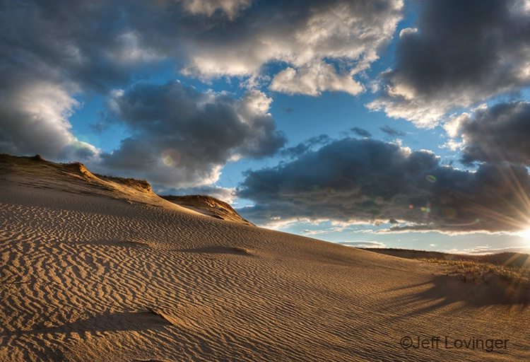 Dunes at Sunset - ID: 10992135 © Jeff Lovinger