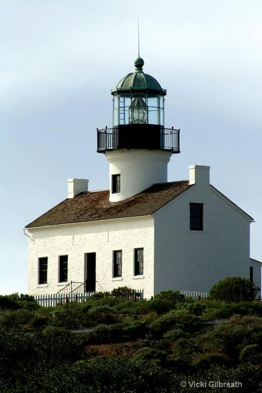 Old Point Loma Lighthouse - ID: 11009346 © Vicki Gilbreath