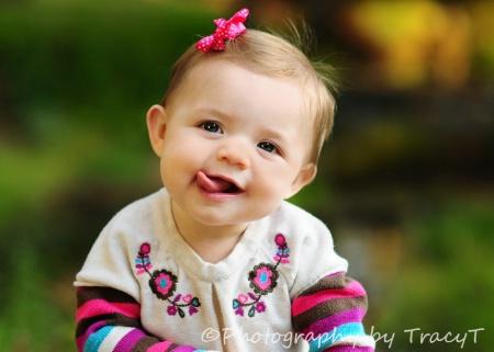 Cute tounge, lol