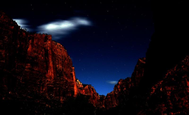 Starry & Spooky Night In Zion
