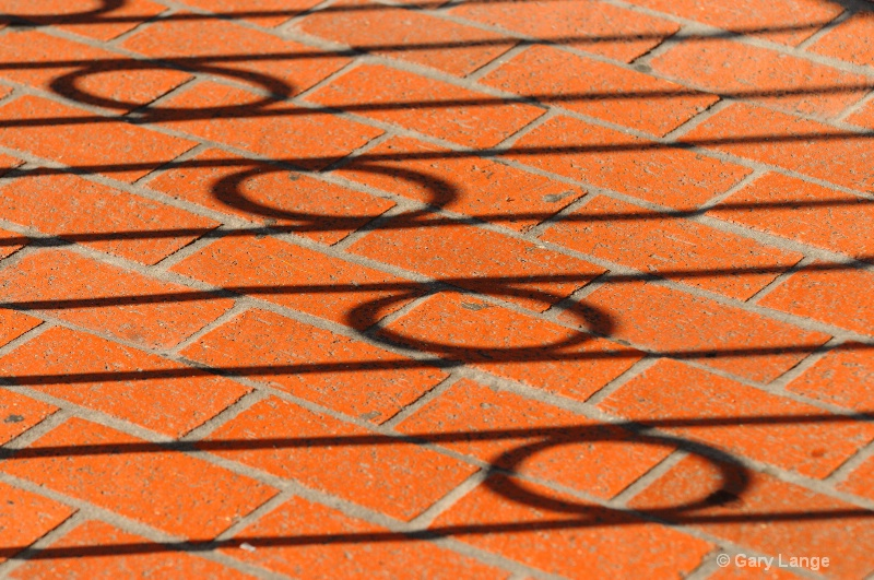 Shadows on brick