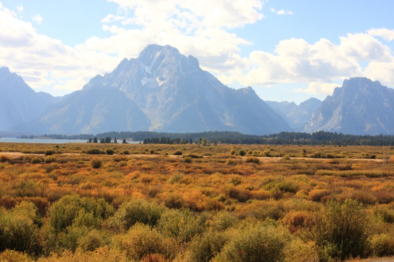 Grand Tetons N.P., Jackson, Wyoming   9.23.10 - ID: 11022319 © Michael S. Couch
