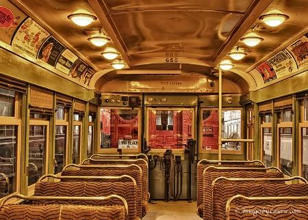 Inside an Old Train