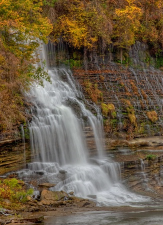 Fall at Rock Island