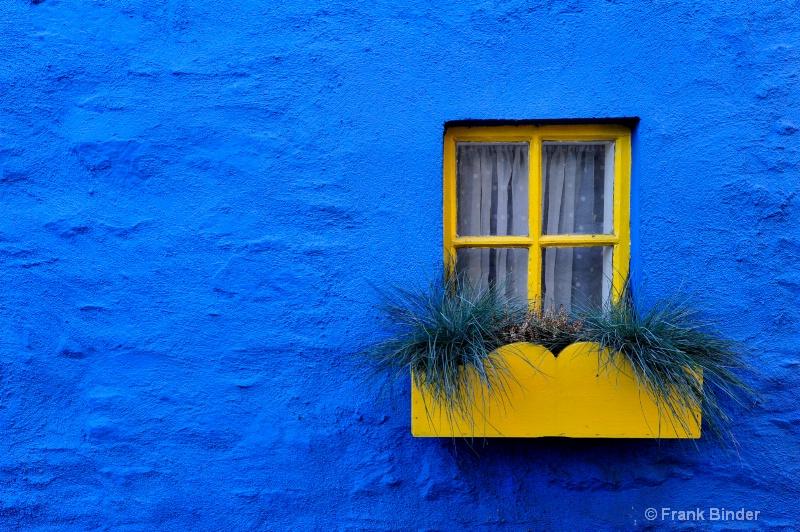 Yellow on Blue - ID: 11044775 © Frank Binder