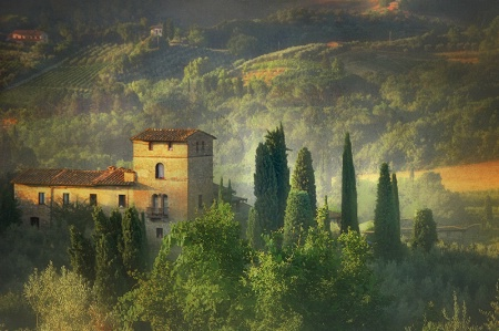 Photography Contest Grand Prize Winner - December 2010: A Morning in San Giminagno