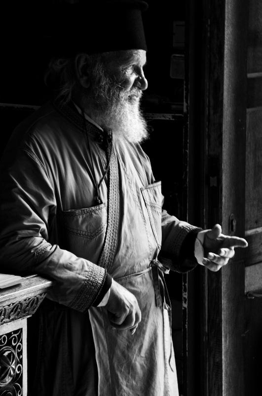 Priestly Greeting - ID: 11114509 © Stanley Singer