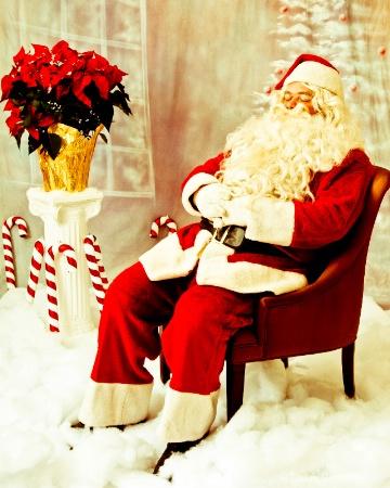 Yesteryear Santa