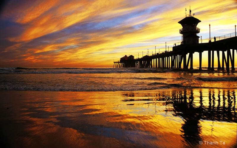 Sunset, Huntington Beach