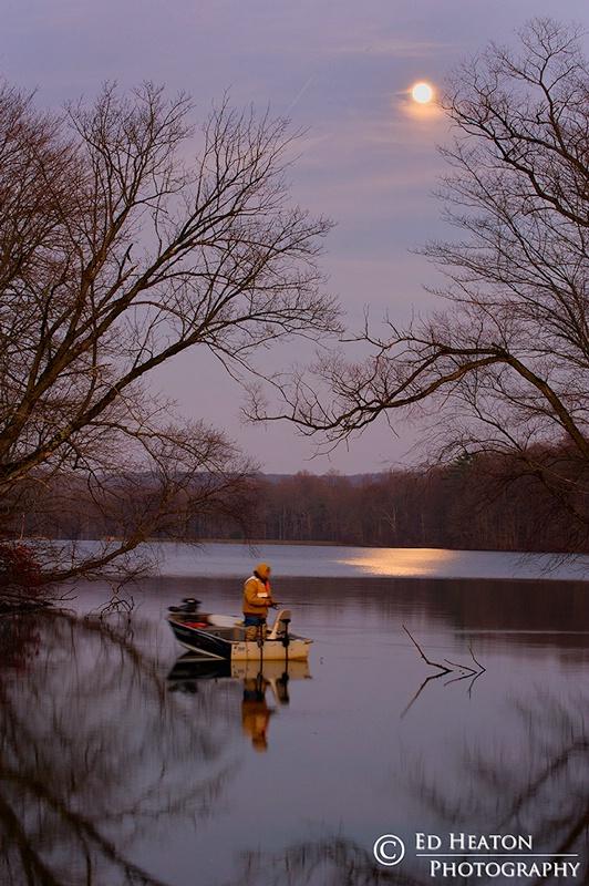 Fishing at Hopewell Lake