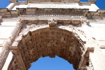 Arch of Titus in the Roman Forum - Input Level
