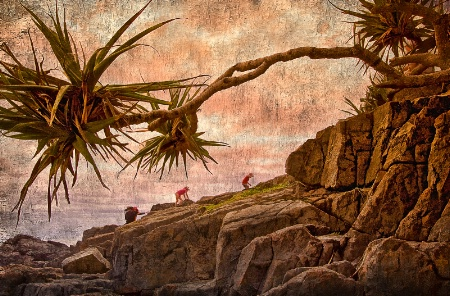 The Long Rock Climb