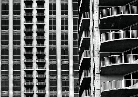 Balcony depth