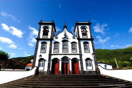 500 year-old Church. So Jorge, Portugal