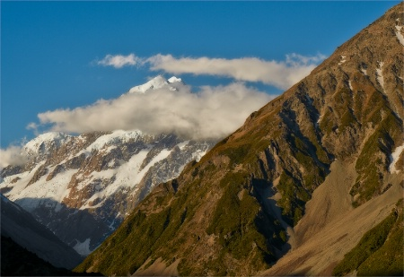 A Moody Mount Cook.