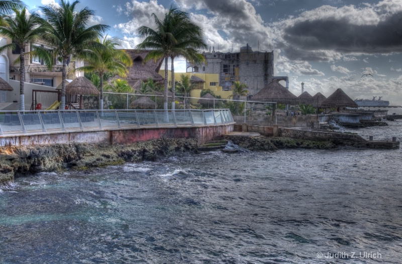 Dramatic Skies at the Cozumel Palace