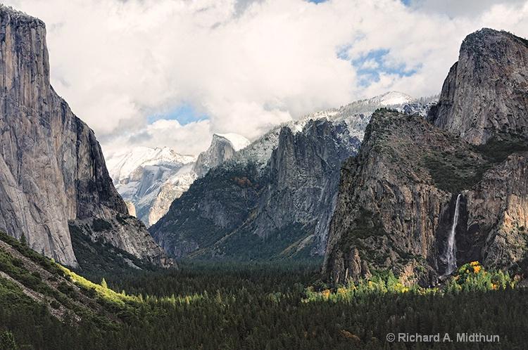 Tunnel View Vista, Yosemite NP