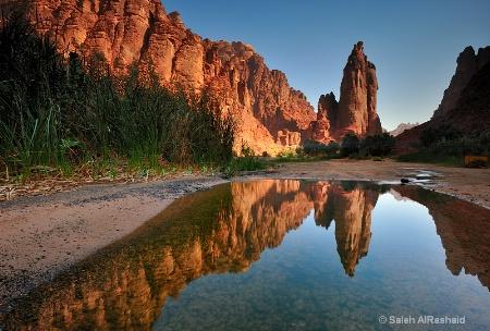 Saudia Arabia - Aldesa Valley