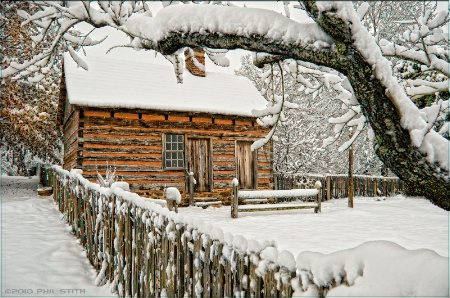 White Christmas in Old Salem