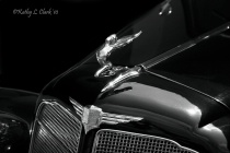 Magnificent Classic Buick in Black & White