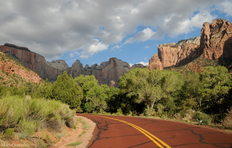 On Route To Amazing Zion