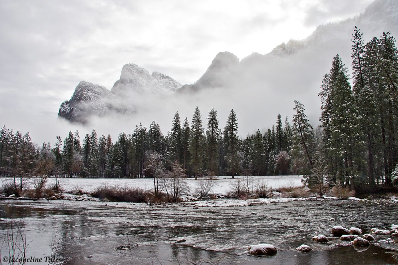 Misty Winter Valley - ID: 11302600 © Jacqueline A. Tilles